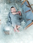 Adorable sleeping baby- Newborn Photography Port Coquitlam by Eve Parisa
