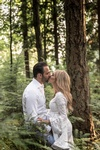 Romantic Outdoor Maternity Photography Vancouver by Eve Parisa