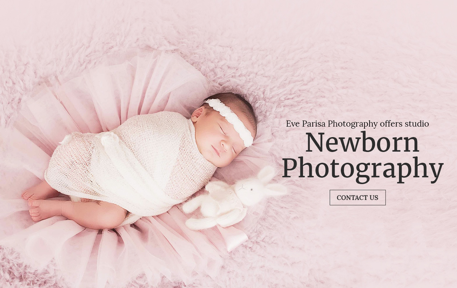 Eve Parisa Photography offers Studio Newborn Photography