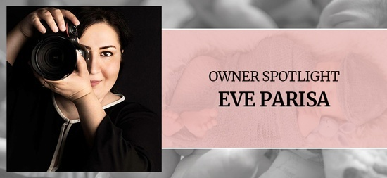 Owner Spotlight - Eve Parisa, Newborn Photographer Port Coquitlam BC