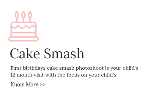 First Birthday Cake Smash Photoshoot by Eve Parisa