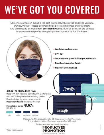 P&P Reusable Masks