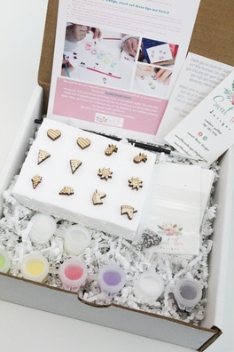 Sweet Styles Paintable Earring Kit