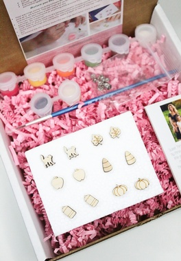 Fall Feels Paintable Earring Kit