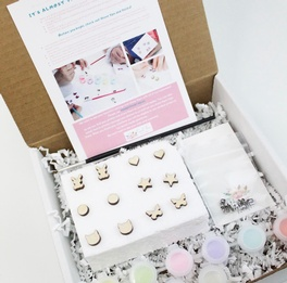 Simple Shapes Paintable Earring Kit