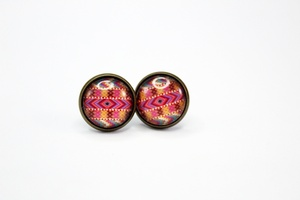 Sweet Three Designs - Aztec Earrings