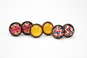 Sweet Three Designs - Aztec Trio Earrings