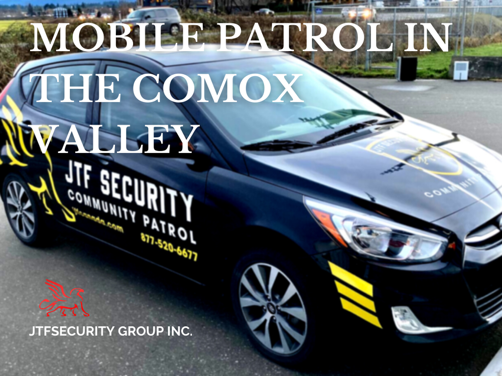 Mobile Patrol Services in the Comox Valley
