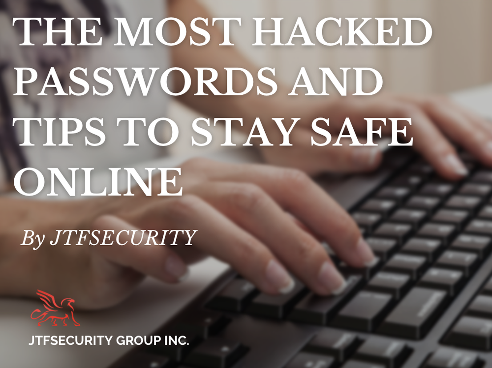 The Most Hacked Passwords and Tips to Stay Safe Online