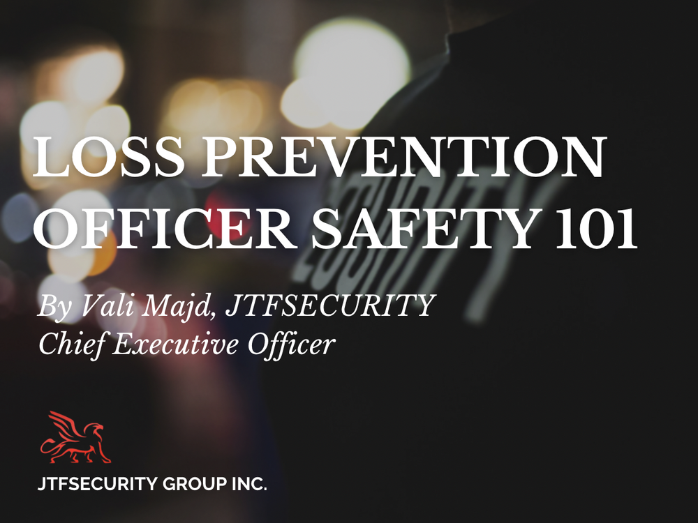 LPO Safety 101 by Vali Majd - Chief Executive Officer at JTFSecurity Group