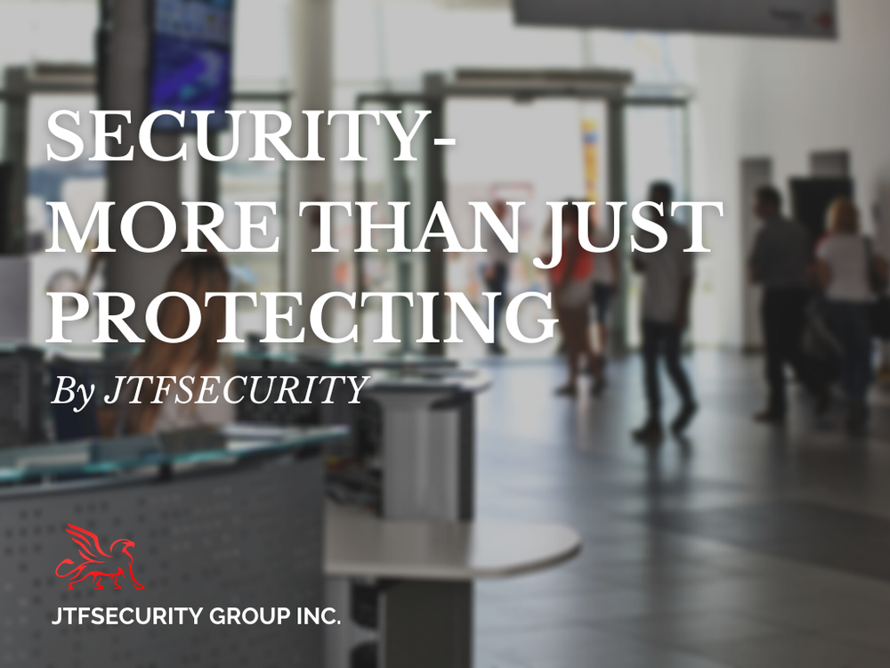 Security- More Than Just Protecting by JTFSecurity