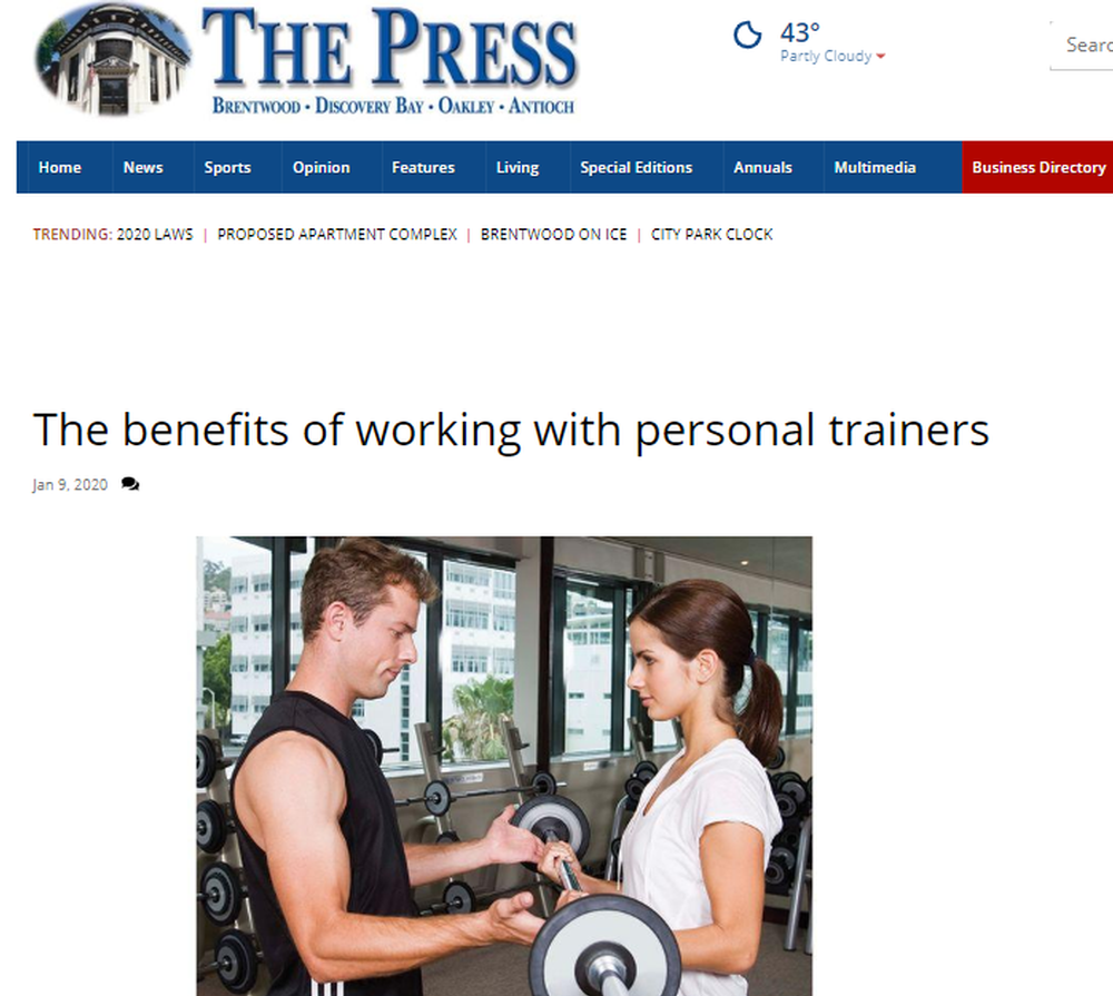 The benefits of working with personal trainers   Living   thepress net.png