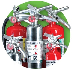 Commercial Grade Fire Extinguishers