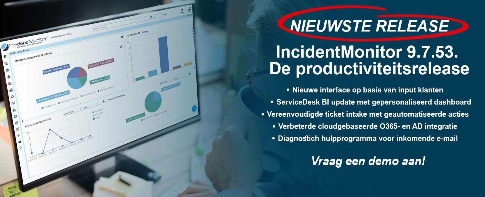IncidentMonitor service desk software