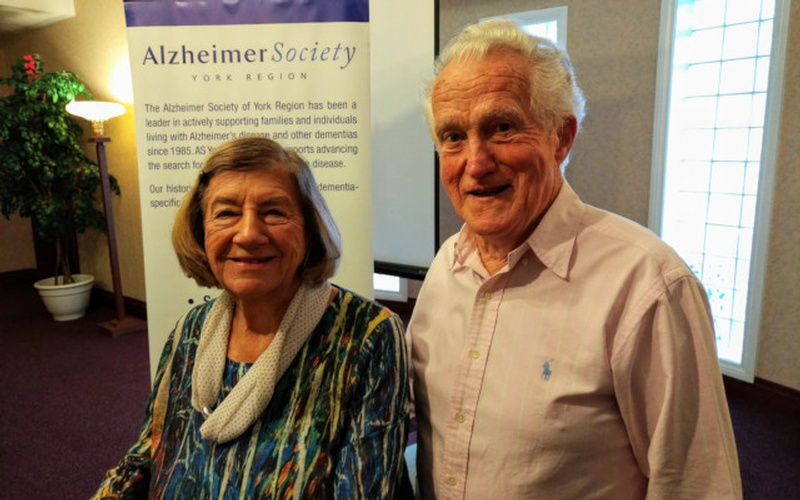 Elderly Couple at Dementia Care Conference by Memory Lane Home Living Inc. - Dementia Care Toronto