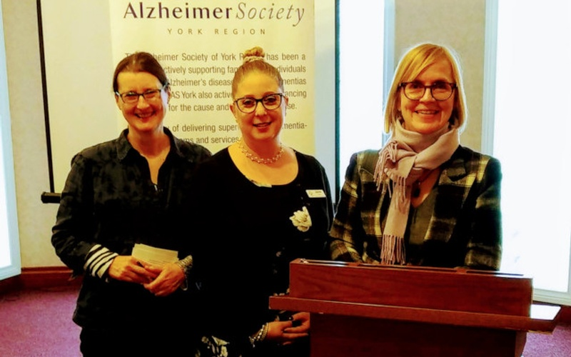 Alzheimer Society of York Region Members at Dementia Care Conference - Memory Lane Home Living Inc.