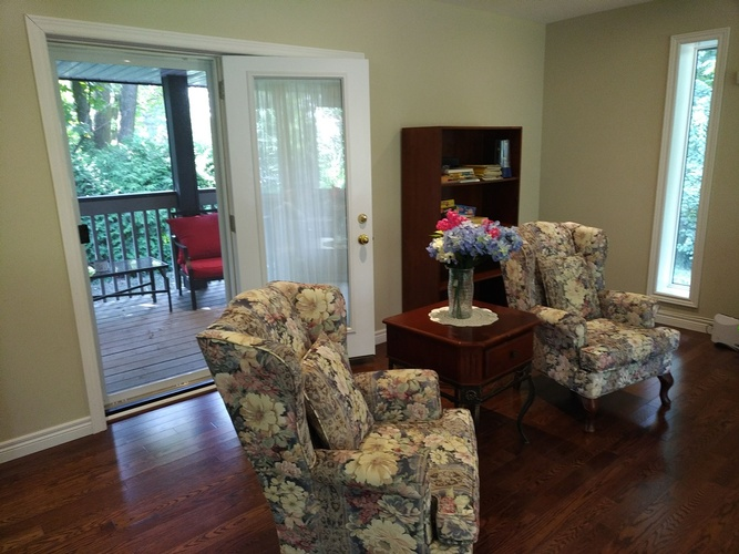 Upholstered Chairs at Memory Lane Home Living Inc. -Dementia Care Home Richmond Hill ON