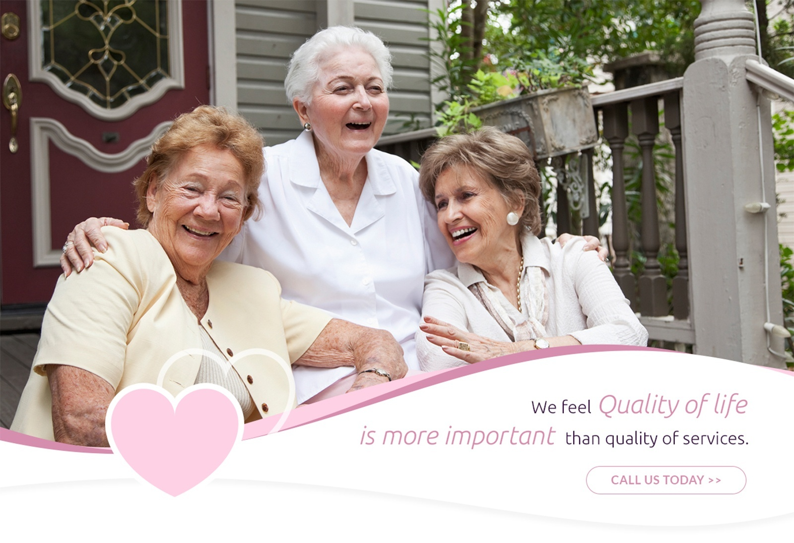 We Feel Quality of Life is more Important than Quality of Services