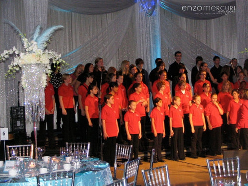 Corporate Event Draping Toronto ON by Enzo Mercuri Designs Inc.