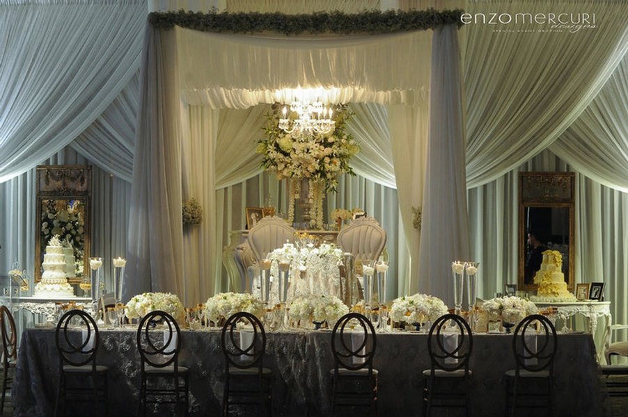 Wedding Reception Decor Toronto by Enzo Mercuri Designs Inc.