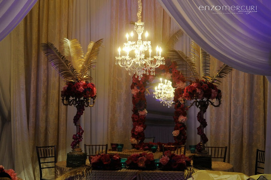 Beautiful Chandelier - Event Decor by Enzo Mercuri Designs Inc.