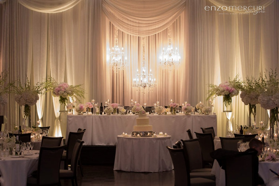 Wedding Reception Decor Vaughan by Enzo Mercuri Designs Inc.