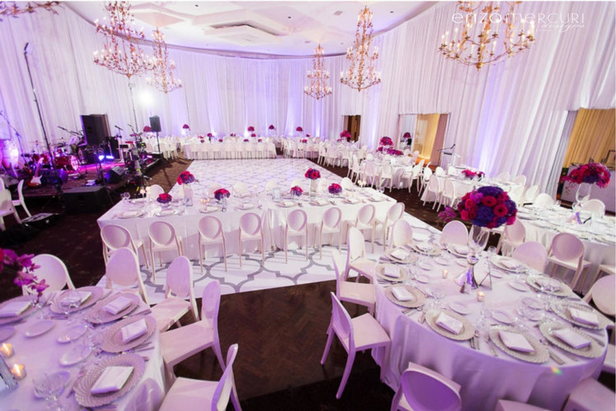 Wedding Reception Decor Brampton by Enzo Mercuri Designs Inc.
