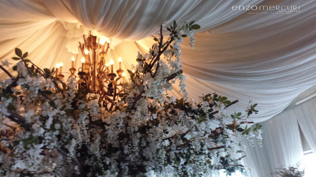 Ceiling Draping by Enzo Mercuri Designs Inc. - Event Decor Company North York