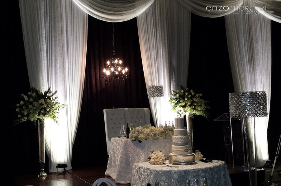 Wedding Reception Decorations Markham by Enzo Mercuri Designs Inc.