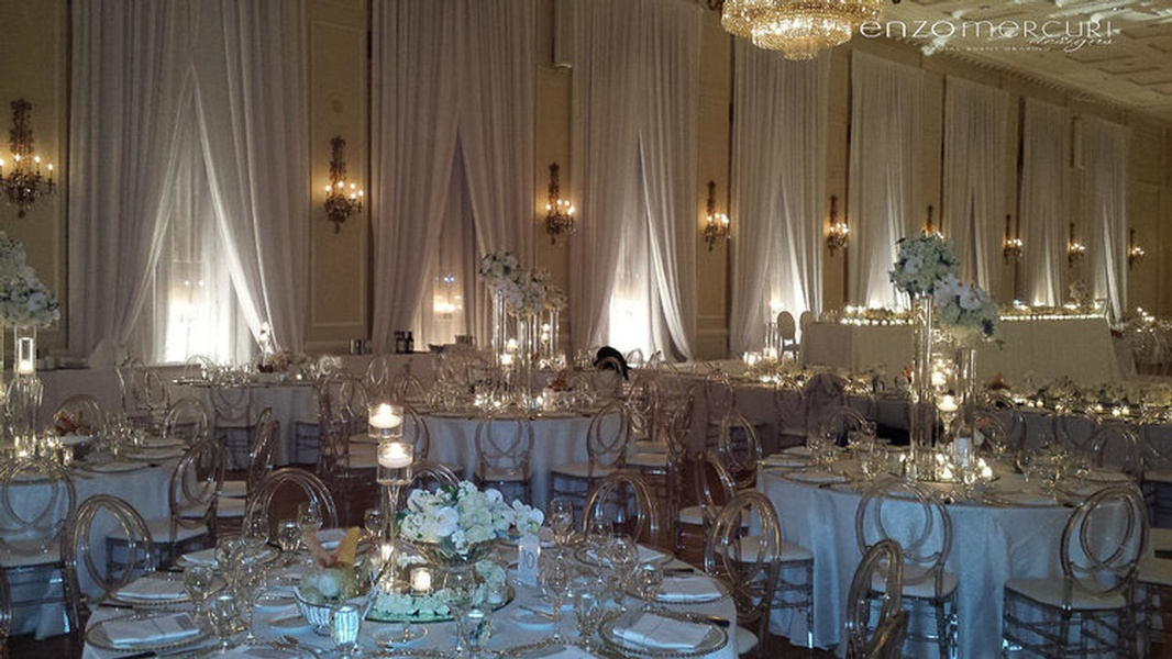 Wedding Reception Decorations Niagara Falls by Enzo Mercuri Designs Inc.