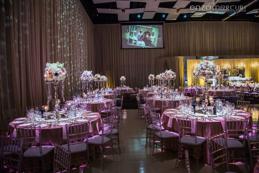 Wedding Reception Decorations Mississauga by Enzo Mercuri Designs Inc.
