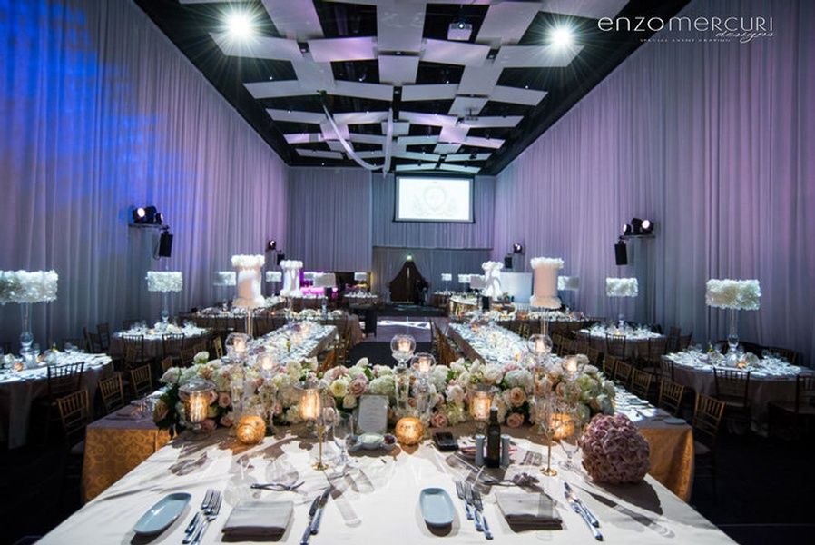 Wedding Reception Decorations Kitchener by Enzo Mercuri Designs Inc.