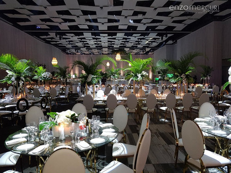 Wedding Reception Decorations Barrie by Enzo Mercuri Designs Inc.