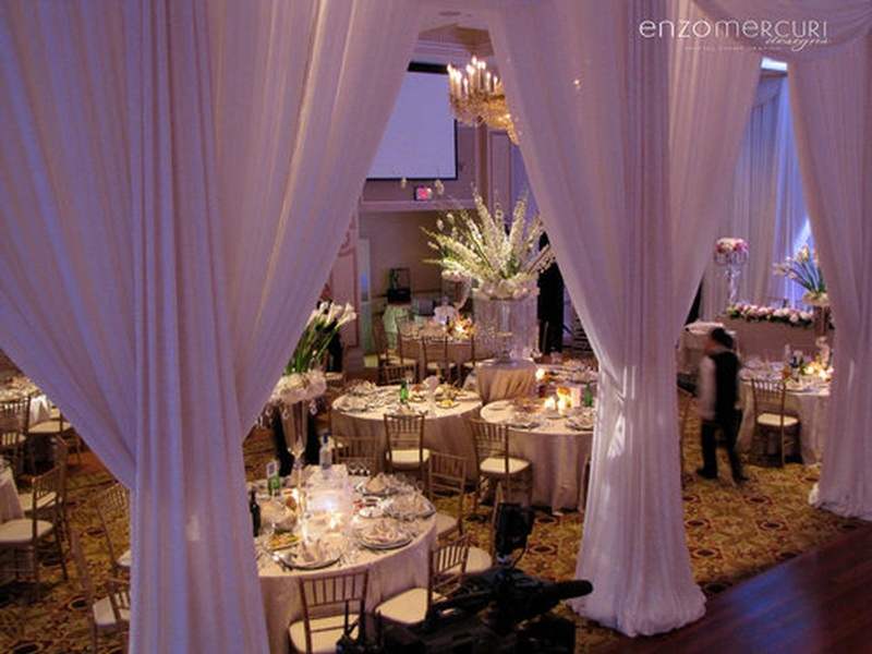 Wedding Decorations North York by Enzo Mercuri Designs Inc.