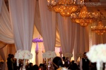Draping for Wedding Reception by Enzo Mercuri Designs Inc.