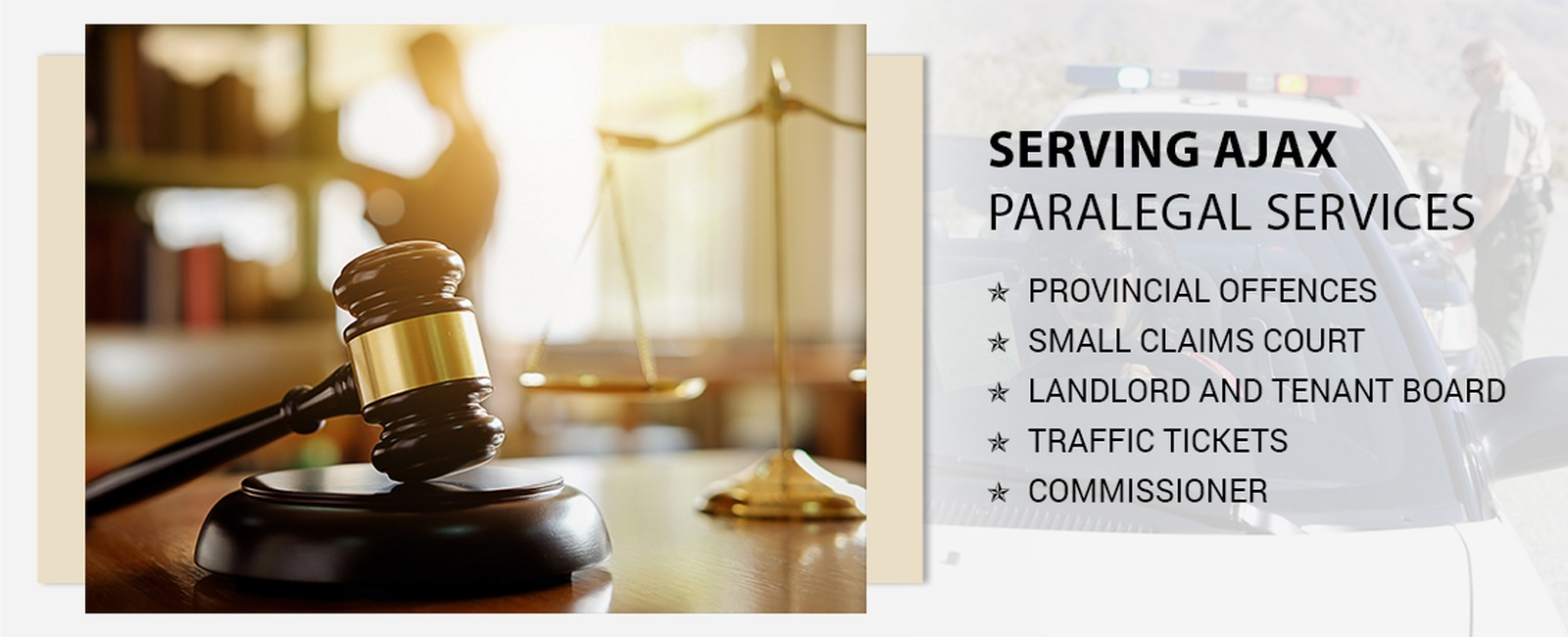 Paralegal services in Ajax