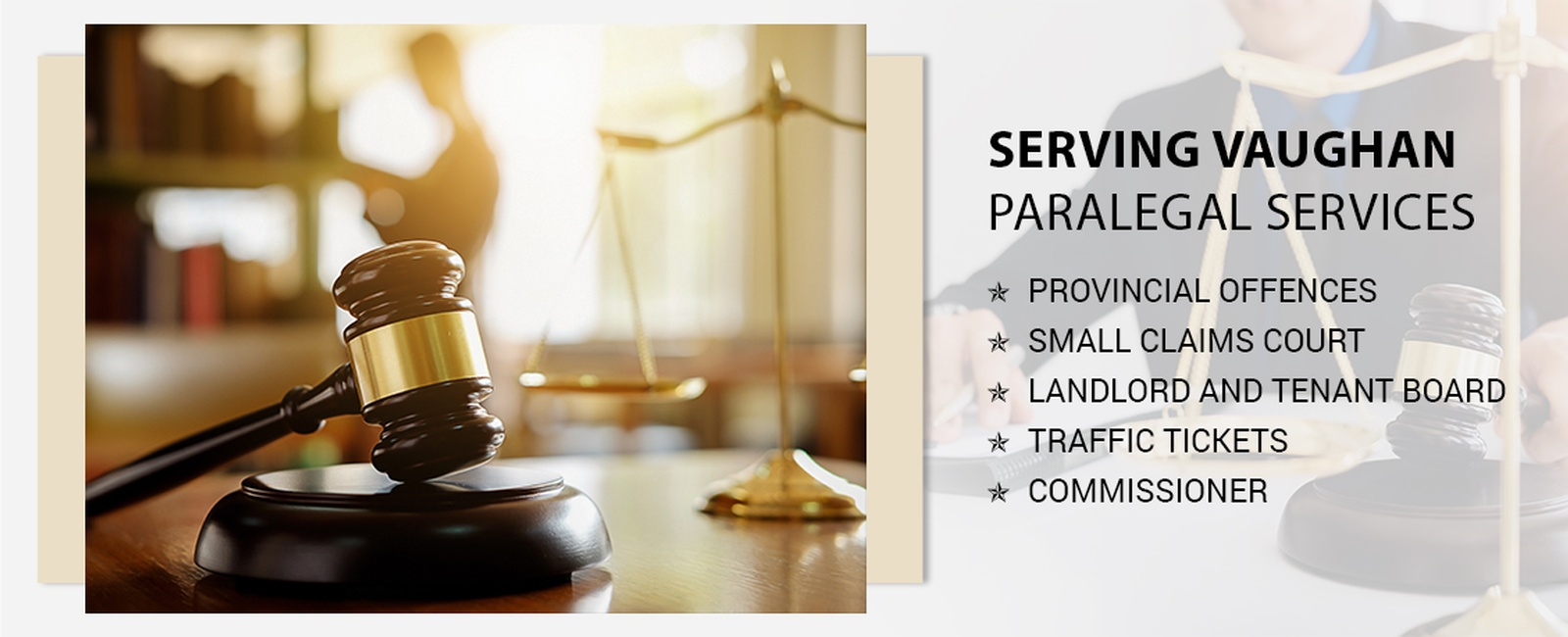 Paralegal services in Vaughan