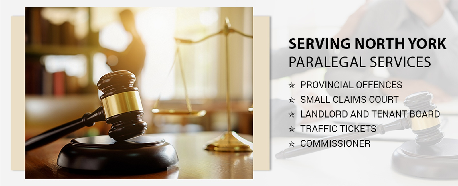 Paralegal services in North York