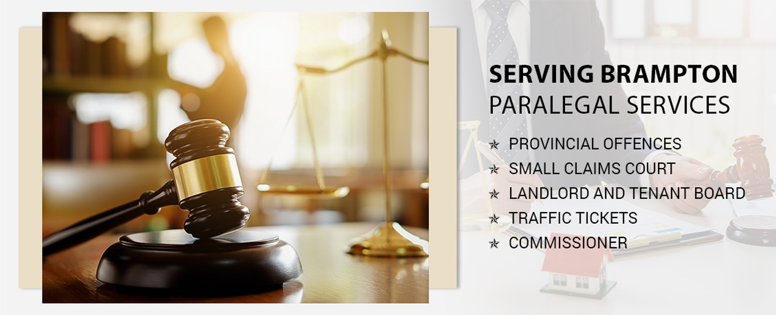 Paralegal services in Brampton