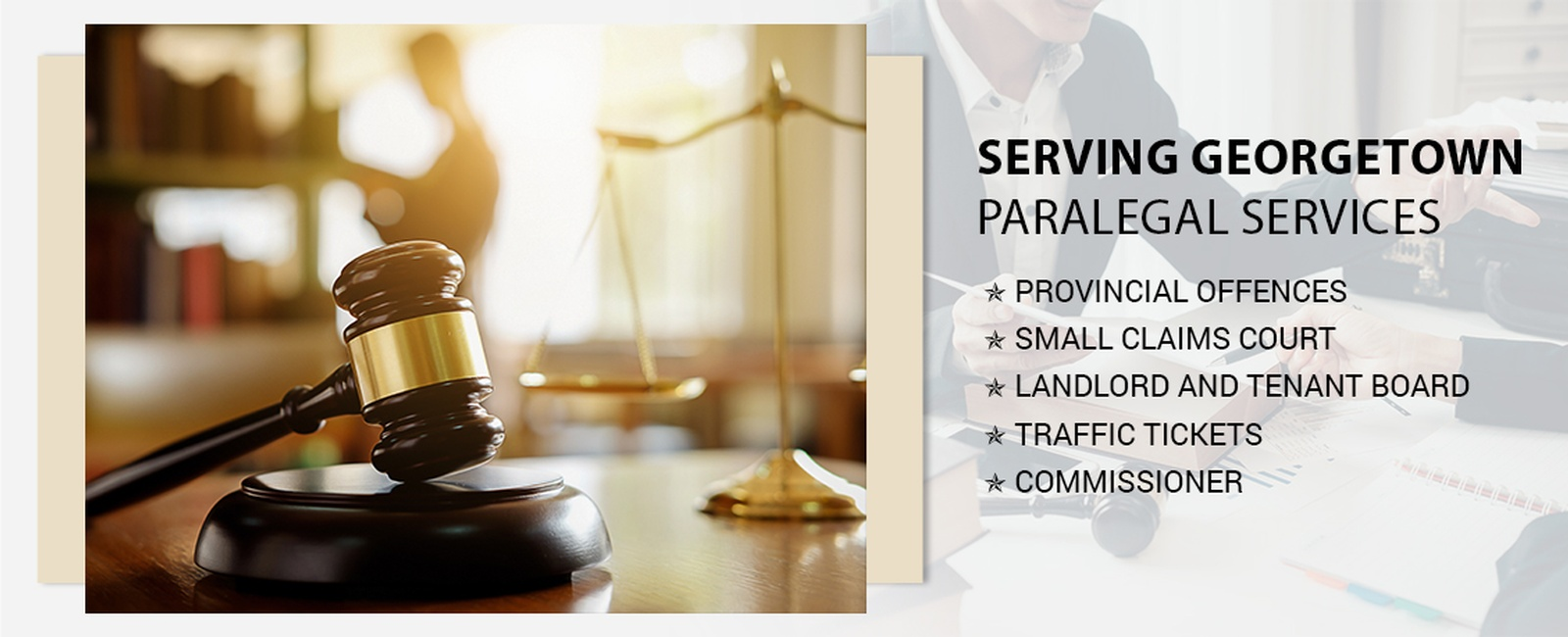 Paralegal services in Georgetown