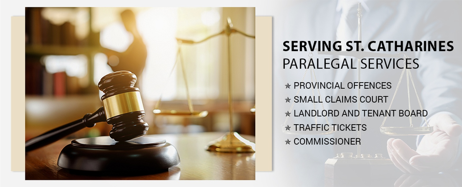 Paralegal services in St. Catharines