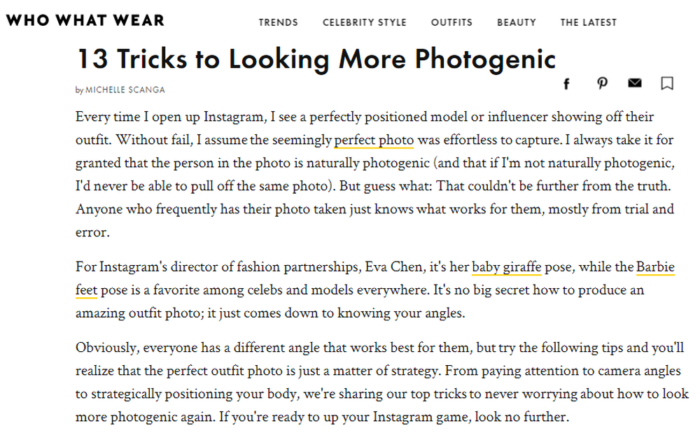 Learn These 13 Tricks on How to Be More Photogenic   Who What Wear.png