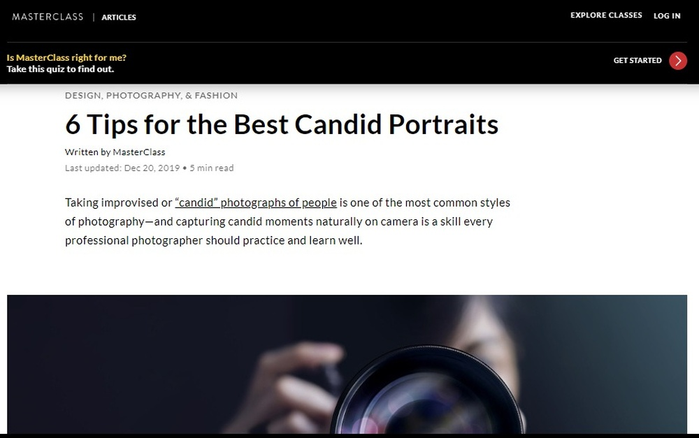 6 Tips for the Best Candid Portraits - 2020 - MasterClass.jpg