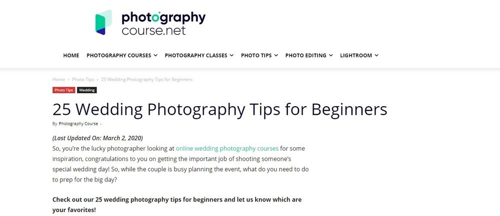 25 Wedding Photography Tips for Beginners   Photography Course.jpg