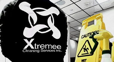 Caution Wet Floor Sign - Cleaning Services Vaughan Ontario - Xtremee Cleaning Services Inc.