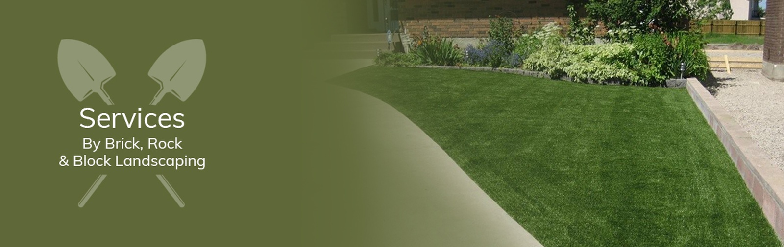 Lawn Care and Maintenance Services Grande Prairie by Brick, Rock and Block Landscaping