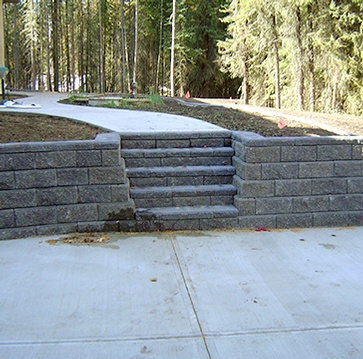Hardscaping Grande Prairie by Brick, Rock and Block Landscaping
