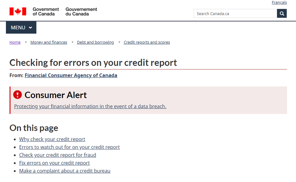 Checking for errors on your credit report - Canada ca.png