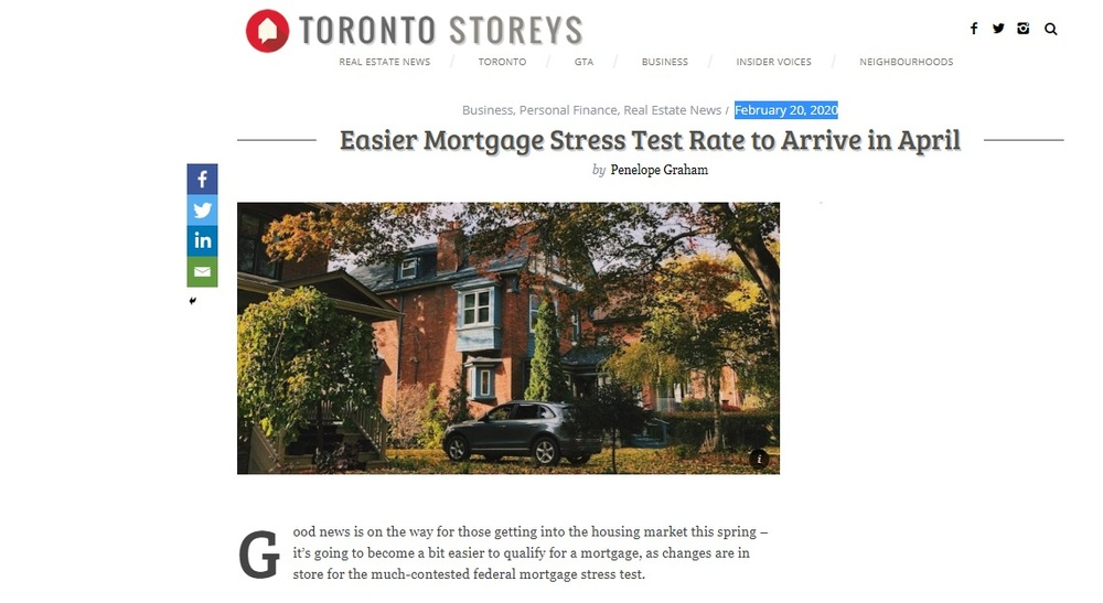 Easier Mortgage Stress Test Rate to Arrive in April 2020.jpg