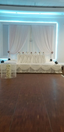 Head Table Backdrop Decoration by OMG DECOR - Wedding Decoration Services Mississauga